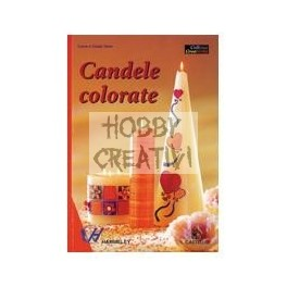 Libro candele colorate hobby creativi for Candele colorate